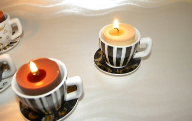 Cinemagic - candle holders