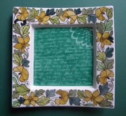The Beloved's Wonderful Game - decorative bowl