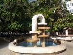 Galaţi 2017: Fountain near Art Gallery