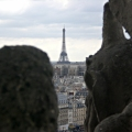 Paris - One Who Flies contemplating the Axis